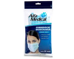 Face Mask for protection against Viruses, Package of 10
